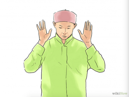 Leve les mains allah u akbar