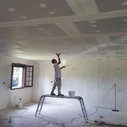 Plaque de plâtre et isolation intérieur